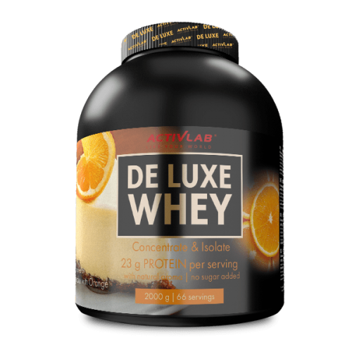 De Luxe Whey Cheesecake