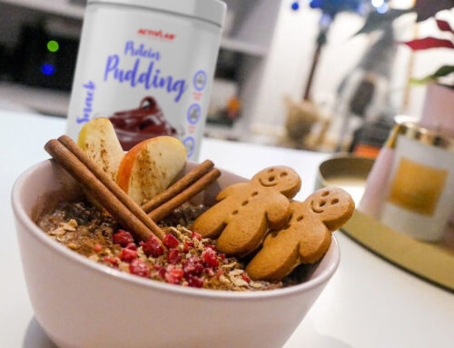 Recipe: gingerbread fit pudding.